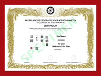 Certificaat Nakoni-ni