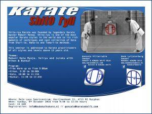 20161009 Karate Shito Ryu Seminar web