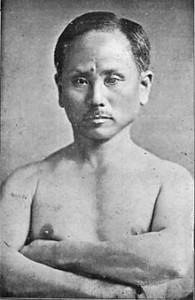 Gichin Funakoshi, grondlegger van het Shotokan karate