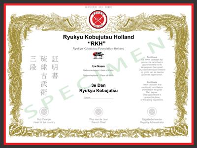 Certificaat RKH