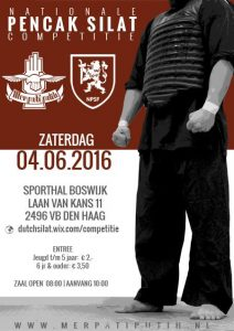 20160604 Open Pencak Silat Toernooi (NPSF Nationale Tanding Competitie) web